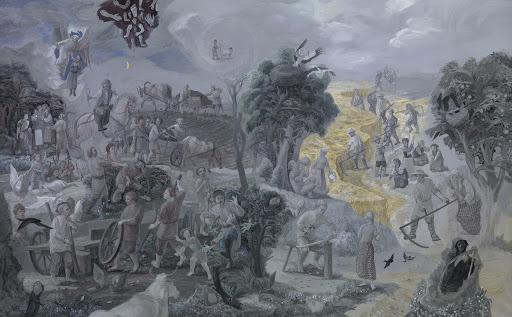 """Mindaugas Grigaitis. """"Metai"""" – tautinė poema apie pažemintos tautos išlikimą"""